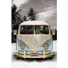 VW TRANSPORTER POSTER LOVE