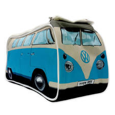 Trousse de toilette VW mini bus bleu