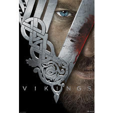 Poster Vikings Casque