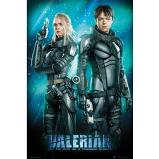 Poster Valerian And The City Of A 1000 Planets -