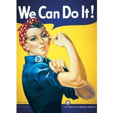 "Poster ""We Can do it"""