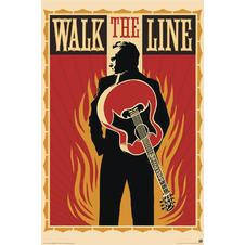POSTER WALK THE LINE