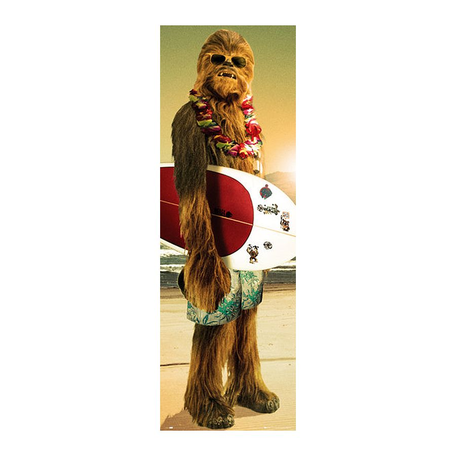 Star wars poster chewbacca surfin 39 posters format - Paysage star wars ...