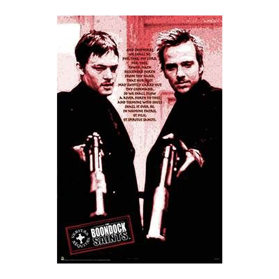 poster boondock saints po232me rouge posters grand format