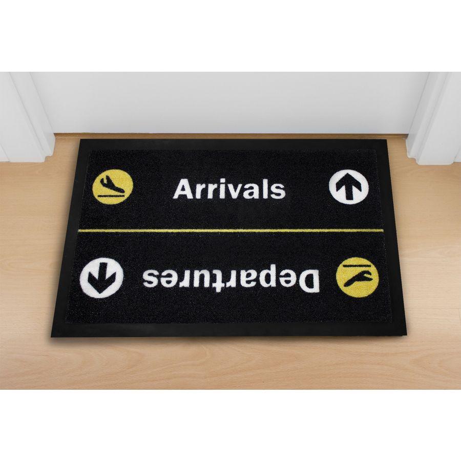 paillasson arrivals/departures, en vente sur close up