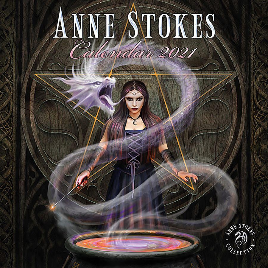 Calendrier 2021   Anne Stokes Collection, en vente sur Close Up