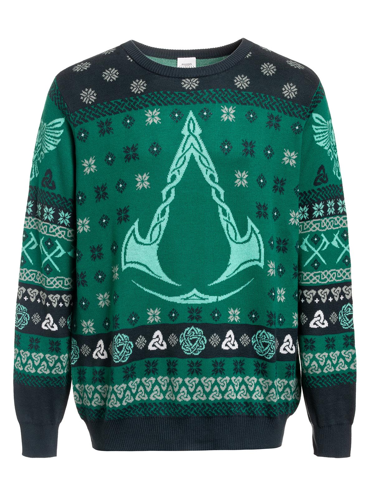 Des assassins creed Pull Tricoté Noël votre direction symbole