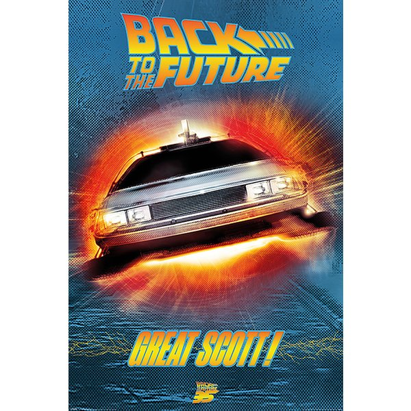 Poster Back To The Future -