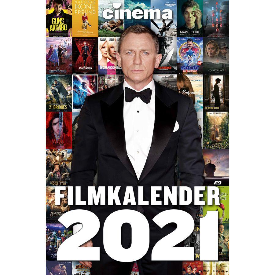 Calendrier de films CINEMA 2021, en vente sur Close Up