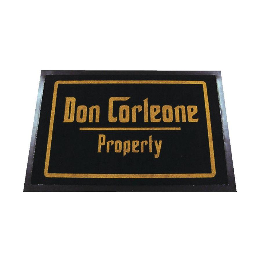 paillasson la propriété de don corleone - paillassons commandez dès
