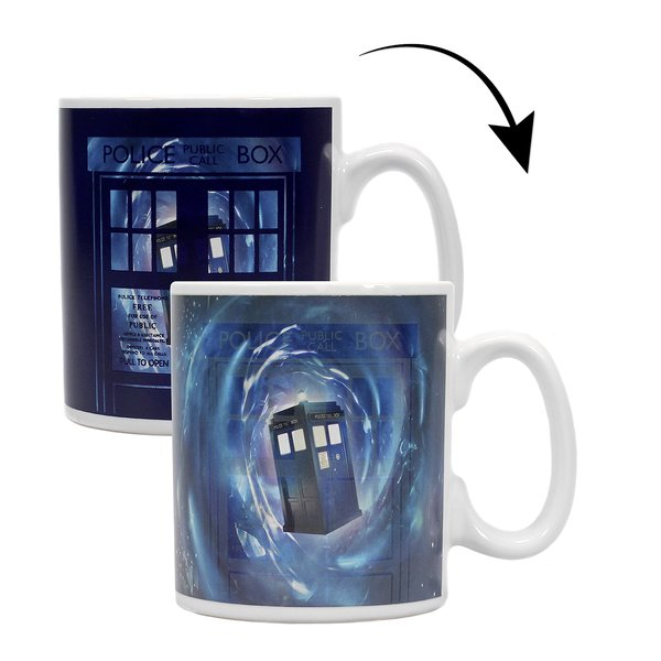 Tasse thermosensible Doctor Who -