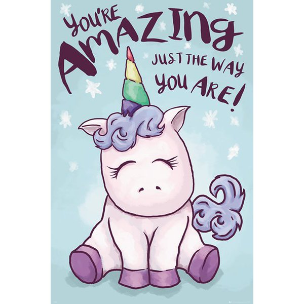 Poster Licorne - You're Amazing