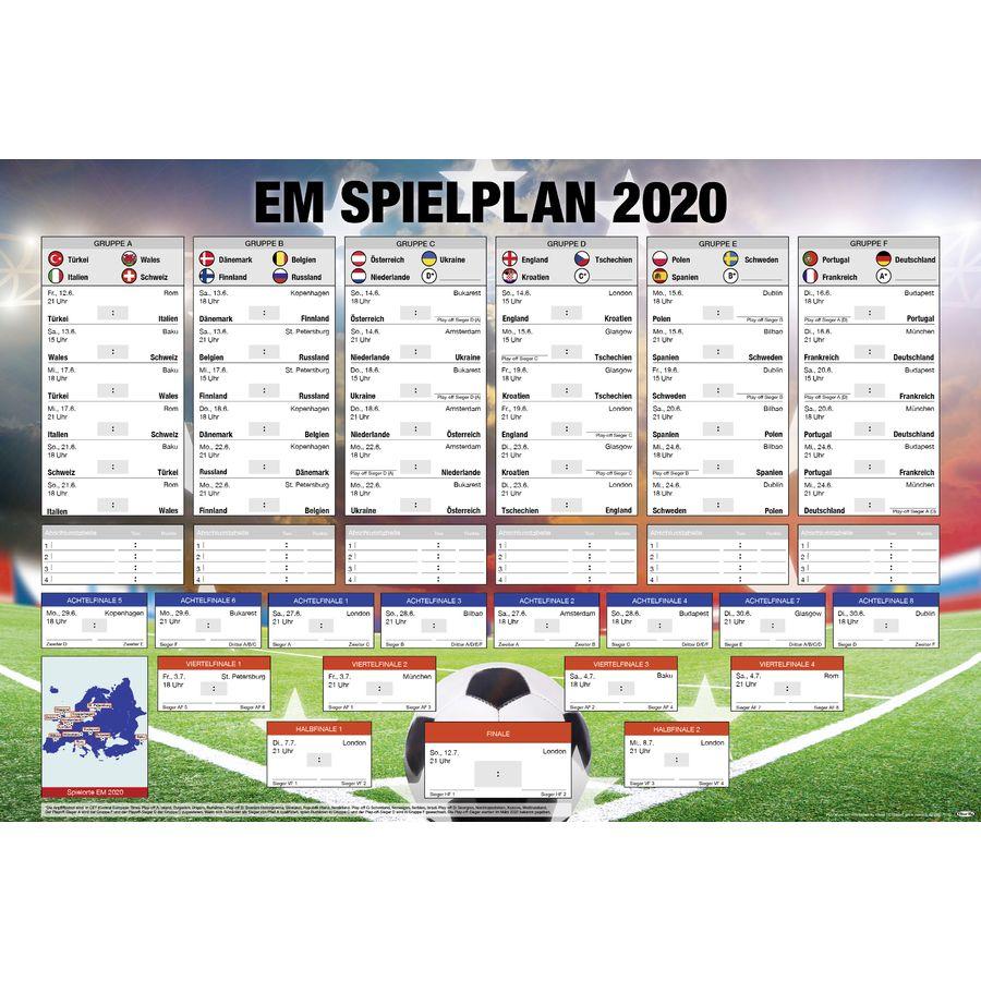 Spielplan Europameisterschaft 2021