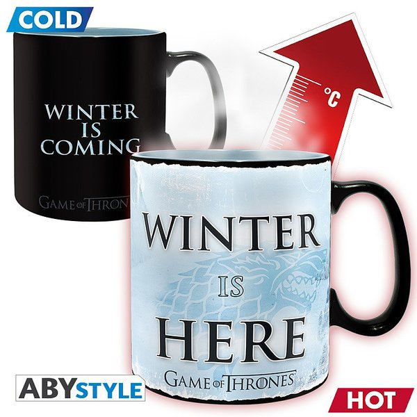 Tasse XL thermosensible Game of Thrones -