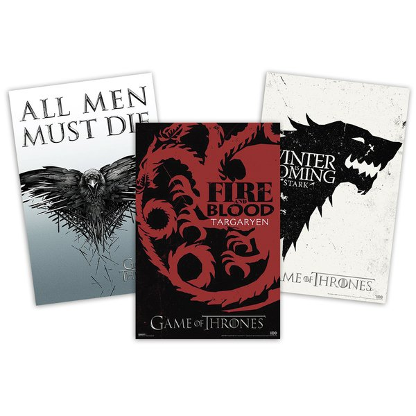 Set de Posters Game of Thrones -