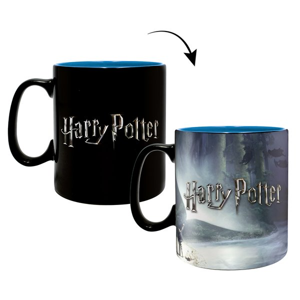 Tasse thermosensible Harry Potter -