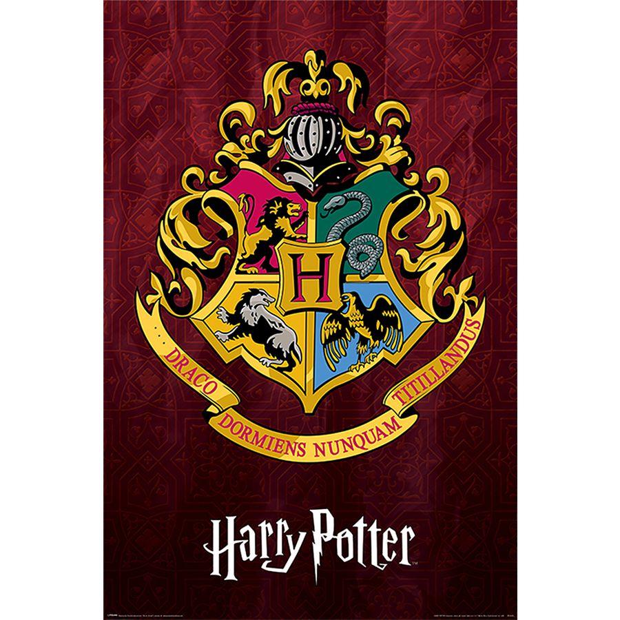 Poster Harry Potter - Blason de Poudlard, en vente sur ...