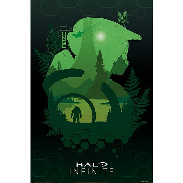 Poster Halo Infinite - Lakeside