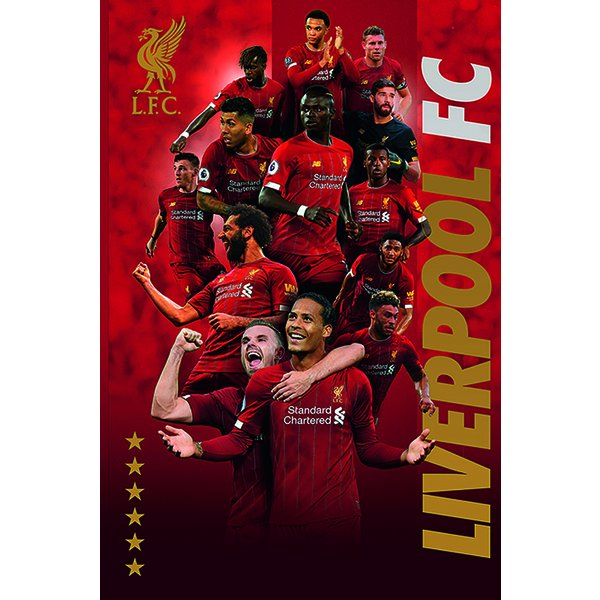 Poster Liverpool FC - Joueurs