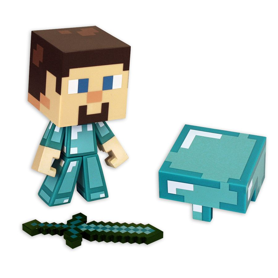 Minecraft Figur Diamond Steve im Fanshop erhältlich