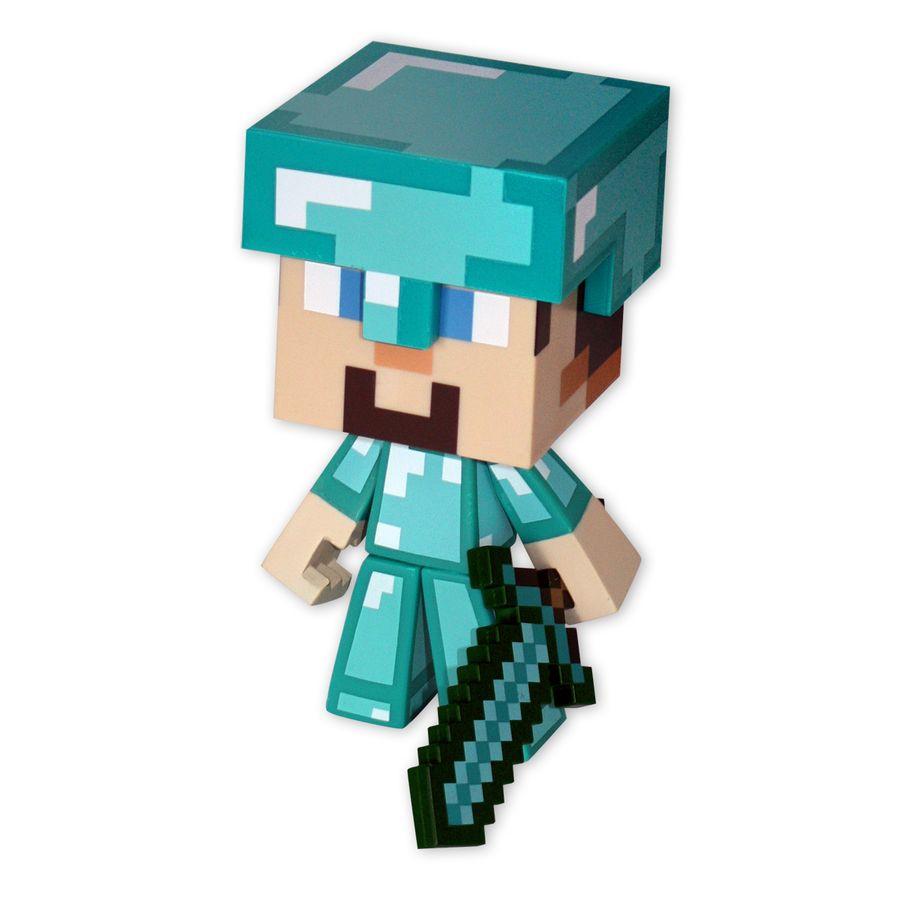 Figurine Diamond Steve De Minecraft