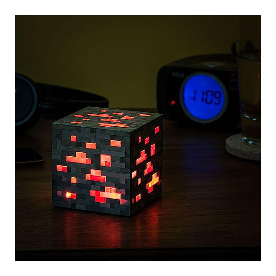 Minecraft Redstone Nachtlicht-Würfel im Fanshop erhältlich