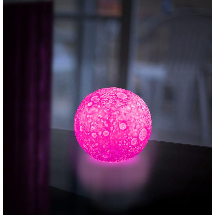 lampe changeante couleurs clair de lune en vente sur close up. Black Bedroom Furniture Sets. Home Design Ideas