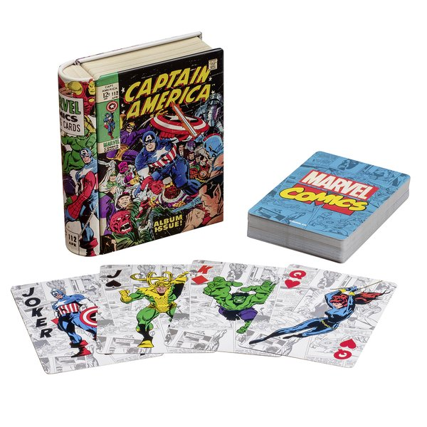 Jeu de cartes Marvel -