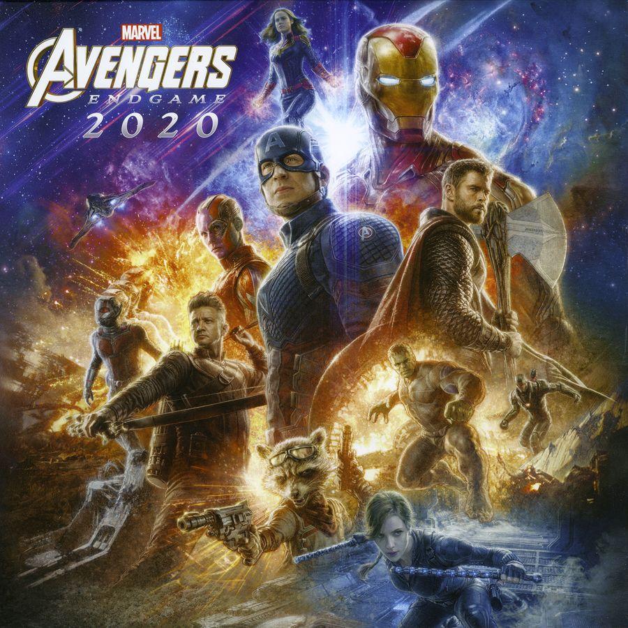 Marvel Calendrier.Calendrier 2020 Marvel Avengers Endgame En Vente Sur Close Up
