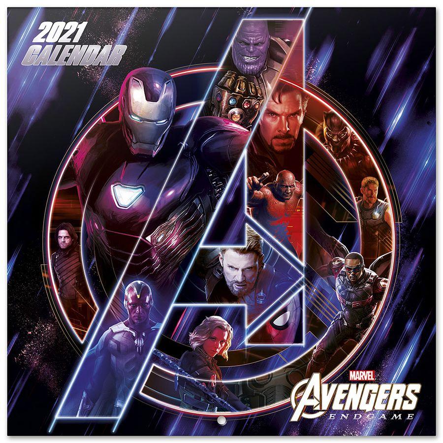 Calendrier 2021   Marvel Avengers Endgame, en vente sur Close Up