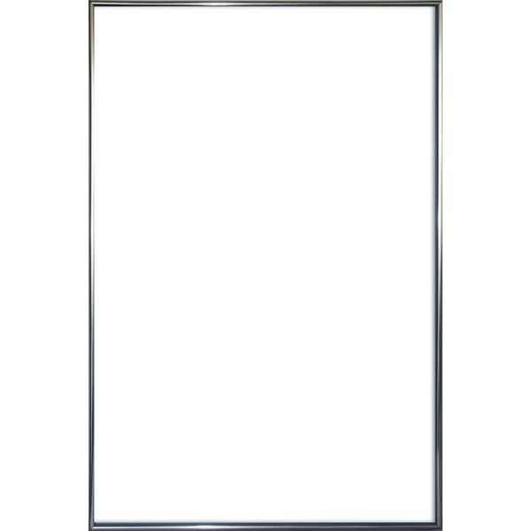 cadre pour poster en plastique effet metal antracite grand format 61 x 91 5 cm cadres. Black Bedroom Furniture Sets. Home Design Ideas