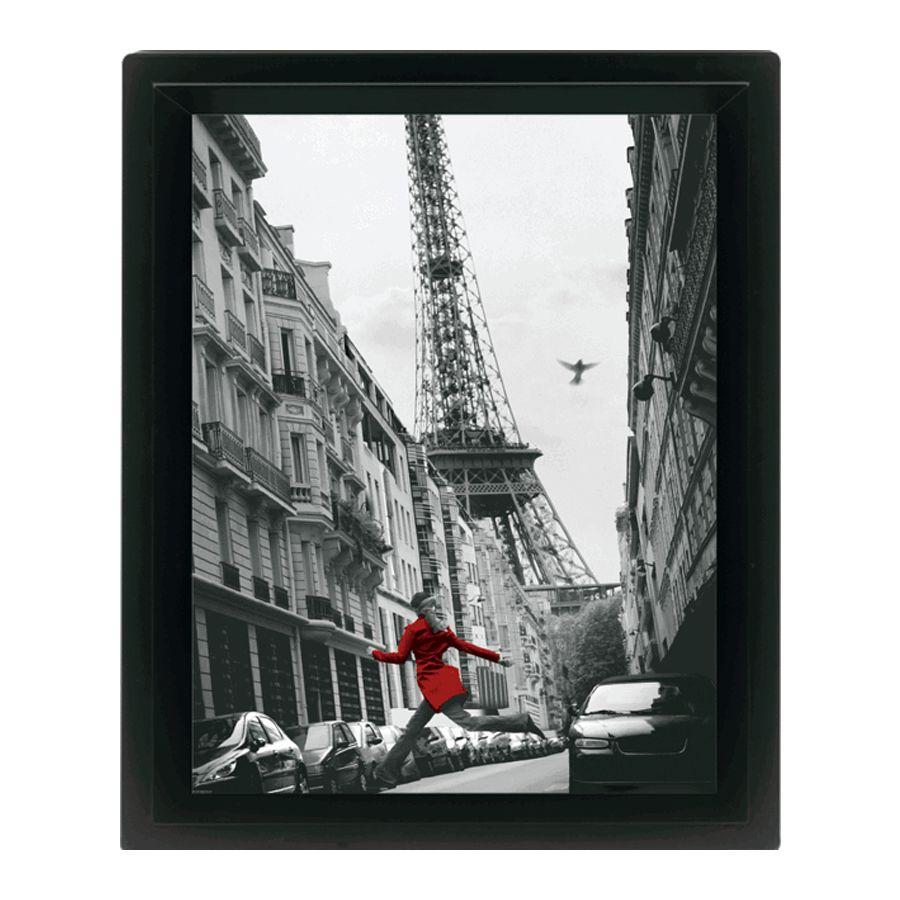 poster encadr paris la veste rouge posters en 3d commandez d s maintenant close up. Black Bedroom Furniture Sets. Home Design Ideas