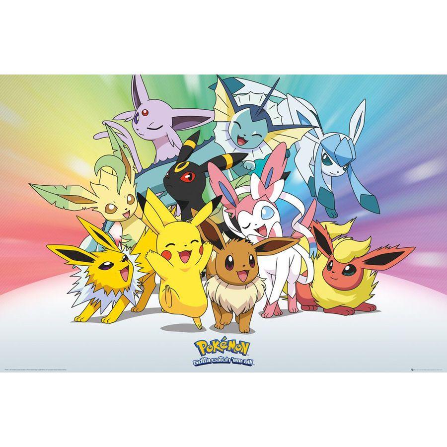 Poster pok mon voli evolution en vente sur close up - Pokemon x et y legendaire ...