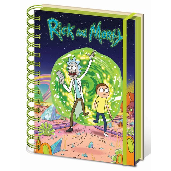 Calepin DIN A5 Rick and Morty -