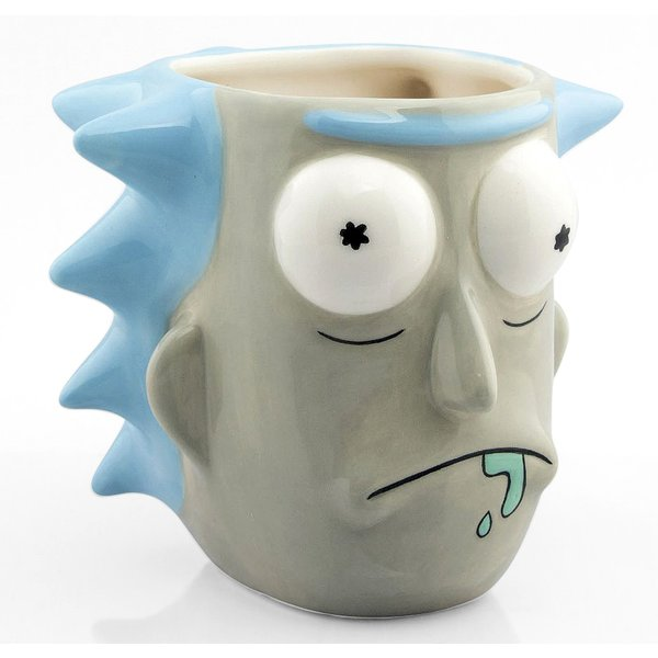 Tasse 3D Rick and Morty -