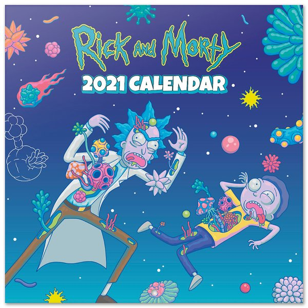 Calendrier 2021 - Rick and Morty