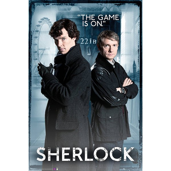 Poster Sherlock The game is on