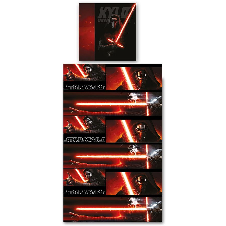 drap de lit star wars kylo ren en vente sur close up. Black Bedroom Furniture Sets. Home Design Ideas