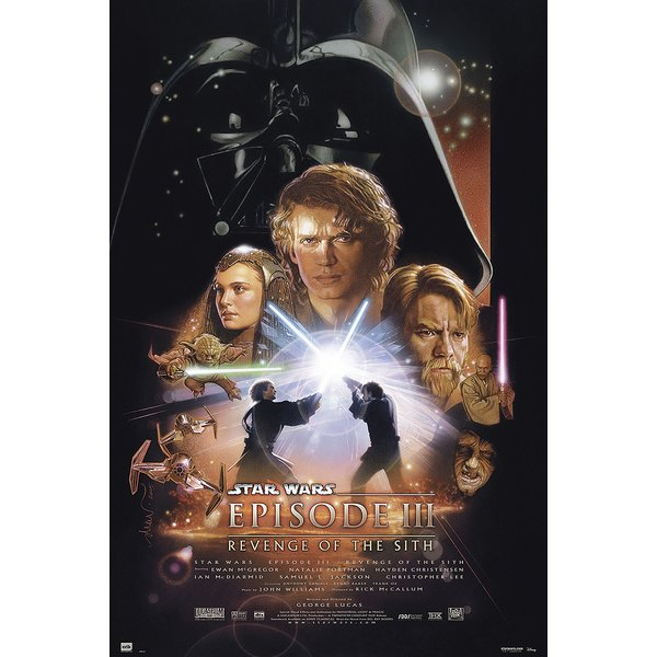 Poster Star Wars : Épisode III