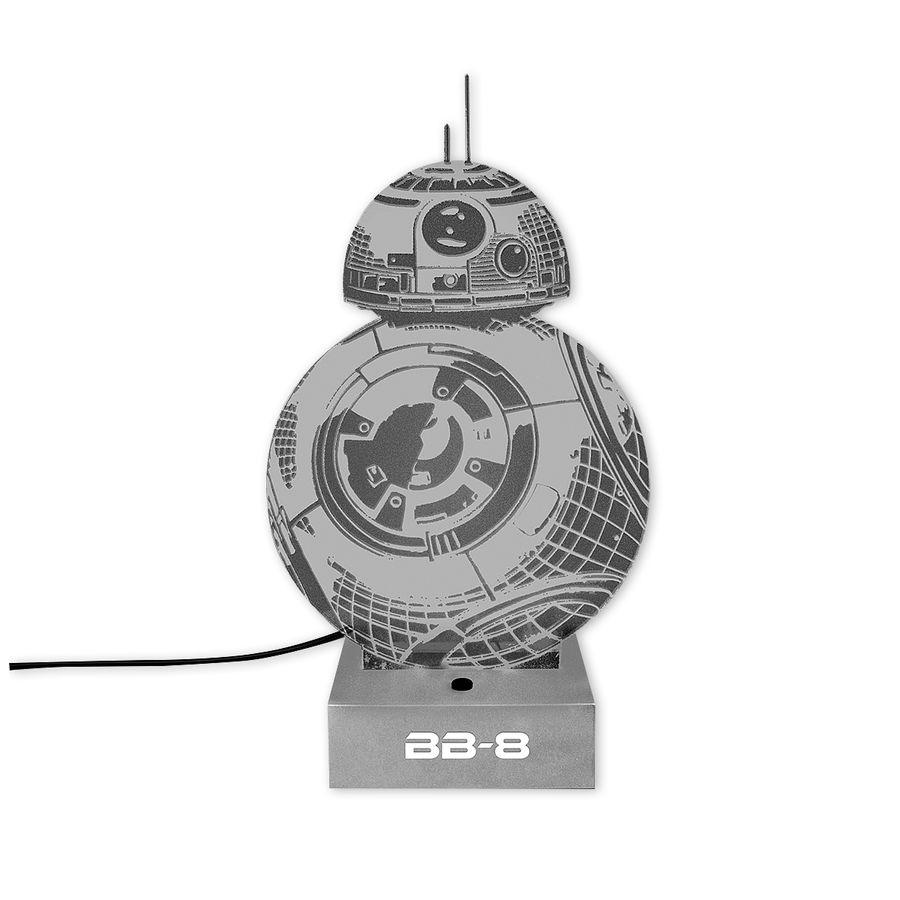 lampe avec effet 3d star wars bb 8 en vente sur close up. Black Bedroom Furniture Sets. Home Design Ideas
