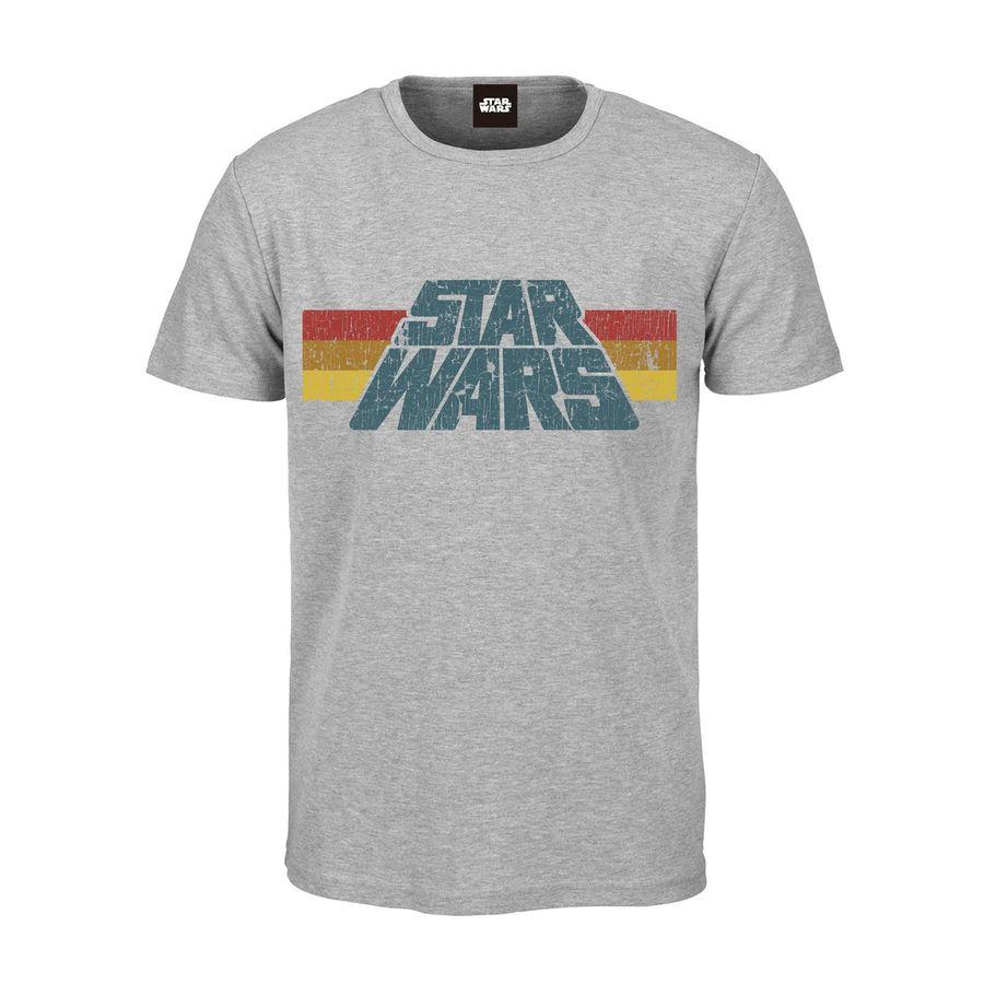 T-Shirt Star Wars - Vintage Logo 1977, en