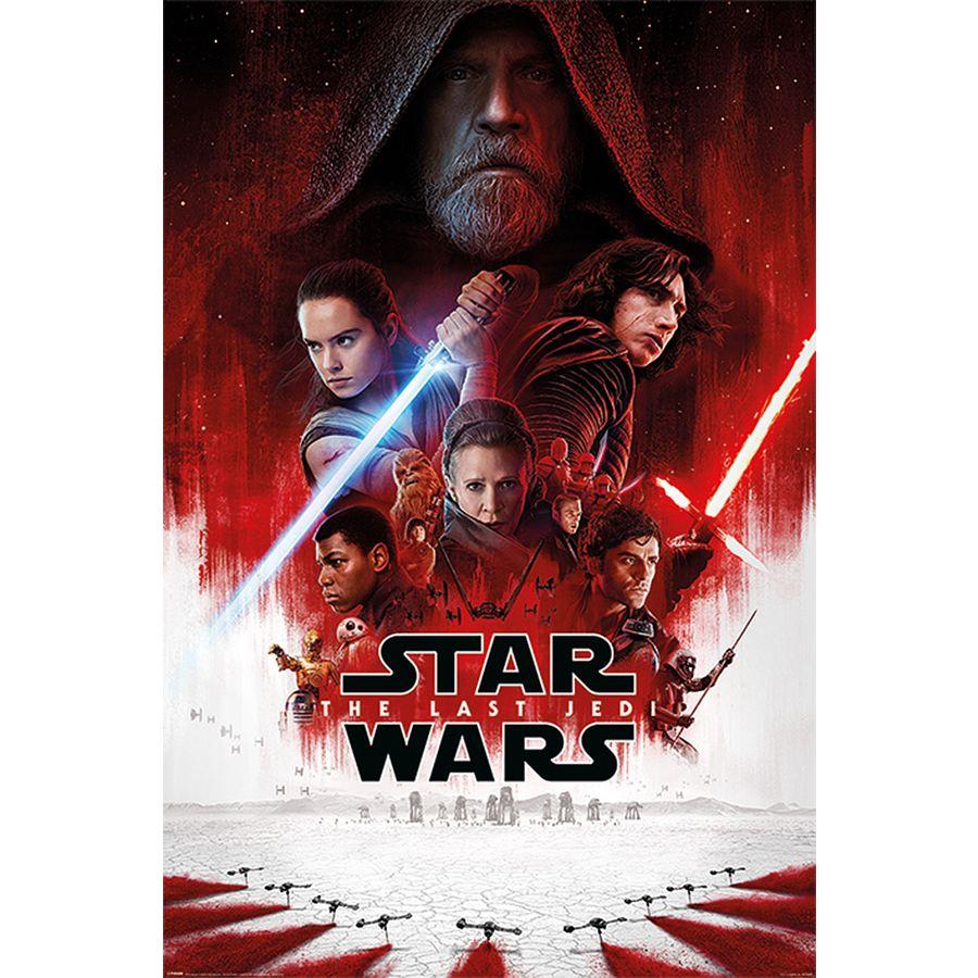 poster star wars episode 8 - one sheet (affiche principale)
