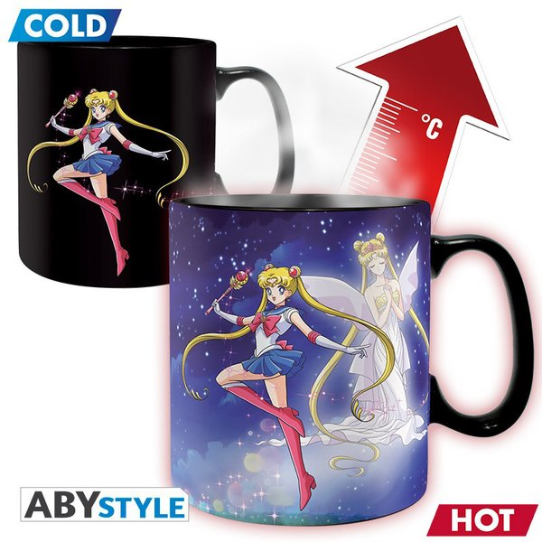 Tasse thermosensible Sailor Moon -
