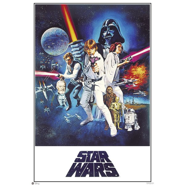 Poster Star Wars Episode IV: A New Hope -