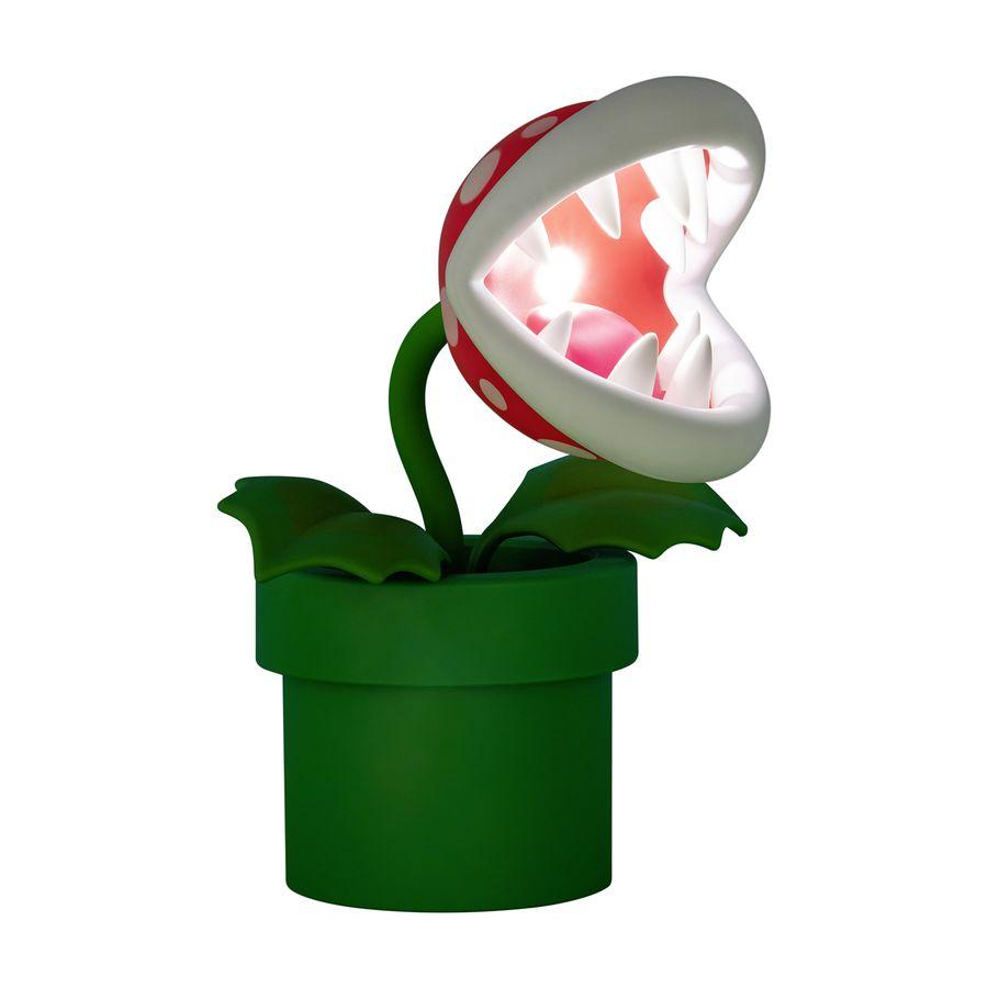 Lampe Super Mario - Plante carnivore, en vente sur Close Up