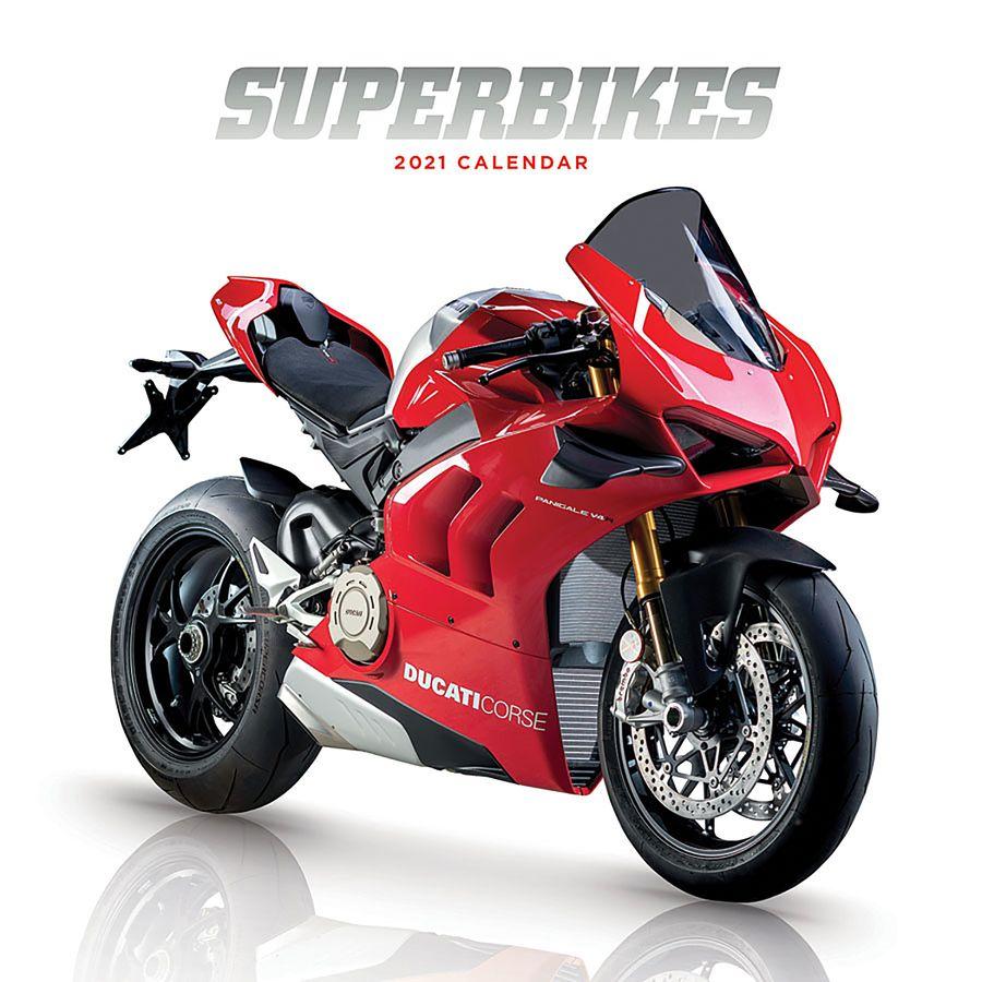 Calendrier Superbike 2021 Calendrier 2021   Superbikes, en vente sur Close Up®