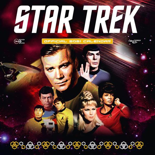 Calendrier 2021 - Star Trek TV Series
