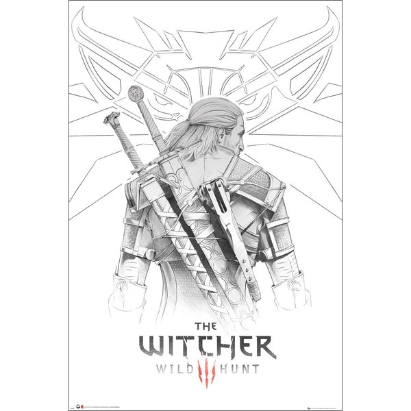 Poster The Witcher 3 : Wild Hunt -