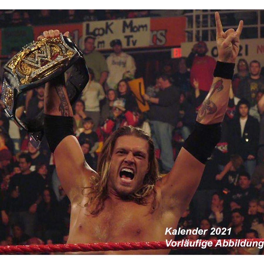 Calendrier 2021   WWE, en vente sur Close Up
